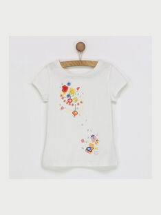 Off white T-shirt RYNOUETTE / 19E2PFH2TMC001