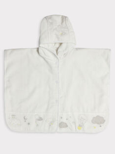 White Bathing cape TYNOOR / 20E0AMF1CDB000