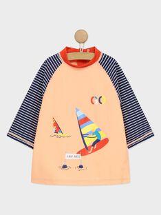 Tee-Shirt anti-uv orange RUVAGE / 19E4PGN1TUVE403