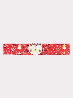 Bandeau rose bonbon bébé fille SAARAH / 19H4BF21BAND313