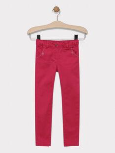 Strawberry rose pants SAPOLETTE 3 / 19H2PF92PAN308
