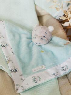 Doudou carré hippopotame bébé garçon ZOTIAGO / 21E0AGY1JOU203