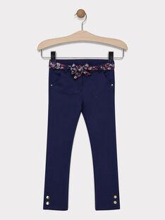 Navy pants SIFLOETTE / 19H2PF41PAN070