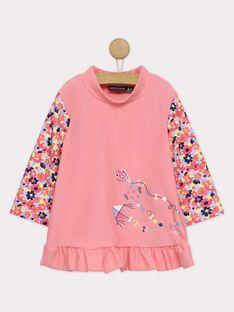 Rose Anti-UV T-Shirt RUNINETTE / 19E4PFN1TUV030