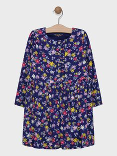 Navy Dress SIBANETTE / 19H2PF41ROB070