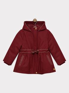 Dark burgundy Rain coat SOUMANETTE / 19H2PF73IMP503