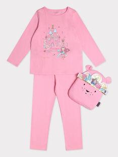 Pyjama rose sur le thème de la sirène fille. TEJENORETTE 3 / 20E5PF53PYT404