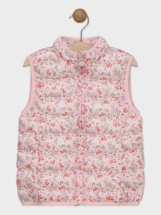 Pink Sleeveless Jacket SYNAMETTE 1 / 19H2PFG2GSMD318
