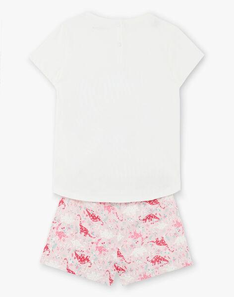 Pyjama Ecru ZEDINETTE / 21E5PF23PYJ001