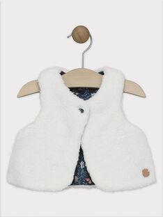Off white Sleeveless cardigan SALOLA / 19H1BFC1CSM001