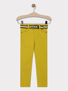 Yellow pants SAZAGE / 19H3PG43PANB106