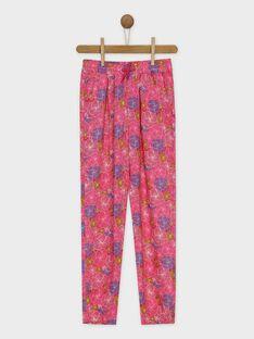 Pantalon rose RUIVOLETTE / 19E2PFP1PAN309
