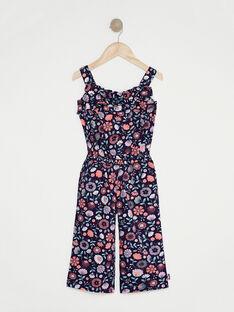Combinaison pantalon violette fille  TAYIMETTE / 20E2PFP1CBL711