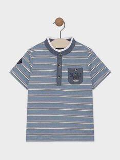 Navy Polo shirt SACHAGE / 19H3PG21POL714