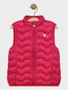 Fushia Sleeveless Jacket SYNAMETTE 2 / 19H2PFG1GSM304