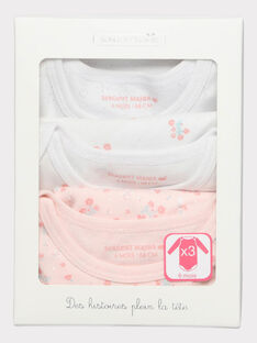 Pale rose Body suit SECAROLE / 19H5BF81BDL301