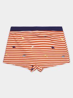 Maillot de bain rayé petit garçon  TISAGE / 20E4PGI2MAIF527