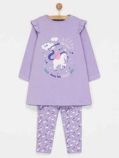 Light violet Night dress PIWELETTE / 18H5PF51CHN322