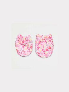 Pale rose New born gloves NAAMELI / 18E0AF41MFN301