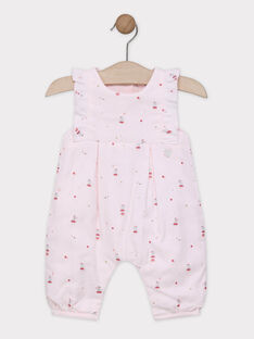 Pale rose Overalls SYALICIA / 19H0CF11SAL301