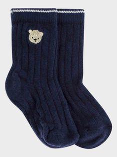 Navy Socks SAMIGUEL / 19H4BGC2SOQ705
