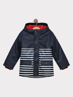 Navy Rain coat SACIRAGE / 19H3PG71IMP070
