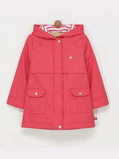 Pink Rain coat RIROUETTE / 19E2PF61IMPD301
