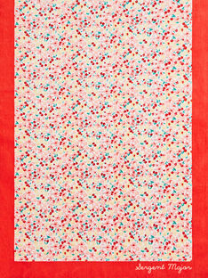Serviette de plage imprimé fleuri petite fille  TIKOETTE / 20E4PFI2SRV001