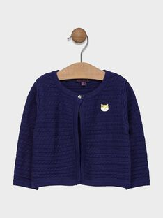 Navy Cardigan SAEMMA / 19H1BF41CAR070