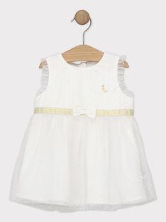 Off white Chasuble dress SAZORA / 19H1BFP1CHS001