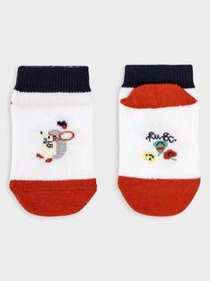 Chaussettes basses bébé garçon TALINO / 20E4BGH1SOB000