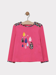 Cady rose T-shirt SIVOUETTE / 19H2PF42TML305
