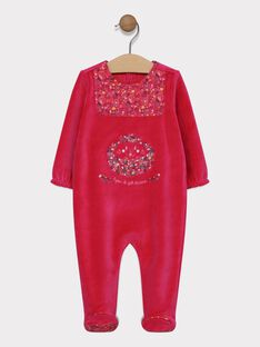 Pink Romper SEAMOUR / 19H5BF52GRED302