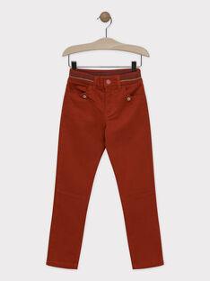 Spicy orange pants SAVRAGE / 19H3PGC3PAN409