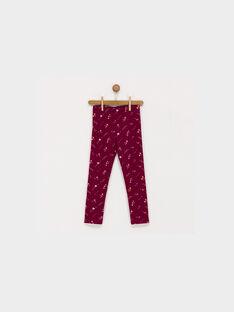 Pink Leggings PAJOLETTE / 18H4PFK1CALD302