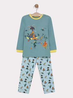 Blue green Pajamas SEDINAGE / 19H5PG55PYJ614