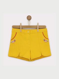 Short jaune RAFONIETTE / 19E2PFC1SHO107
