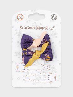 Purple Hair clip SOCASETTE / 19H4PFBABRT712