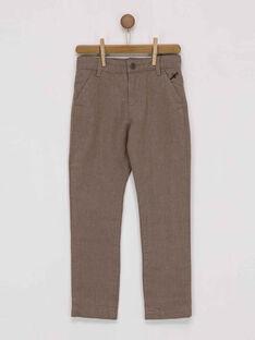 Brown pants PIMUAGE / 18H3PGK2PAN812
