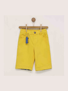 Bermuda jaune RECIAGE / 19E3PGC1BER412
