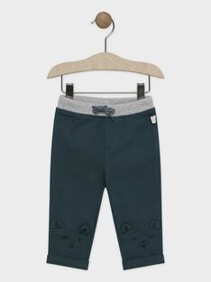 Pantalon de jogging bébé garçon vert anglais  SAMAXENCE / 19H1BGC1JGBG625