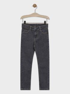 Jeans en denim gris garçon SAVROUAGE / 19H3PGC1JEAK004