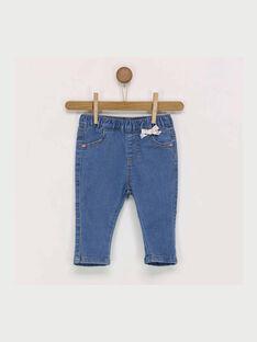 Jeans bleu jean RABONNY / 19E1BF21JEA704