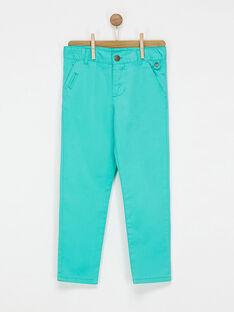 Green pants NYFANOLAGE / 18E3PG11PAN630