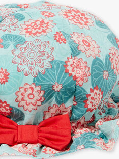 Chapeau imprimé fleurs de lotus ZACHOU / 21E4BFI1CHA629
