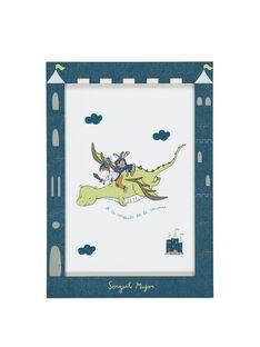 Violet blue Poster RODRAGAFF / 19EZLAX2AFF221