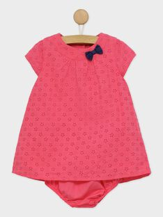 Fushia Chasuble dress RYCAROLE / 19E1BFT1CHS304