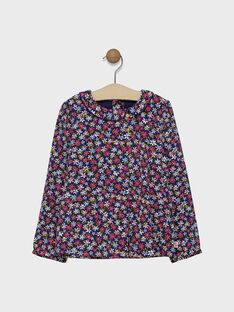 Lined, long-sleeved blouse SIJESSETTE / 19H2PF41CHE305