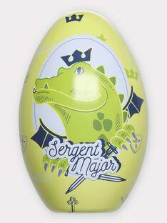 Œuf de Pâques Dragon avec cape à colorier TUDRAGAGE / 20E3PGU1CPO000