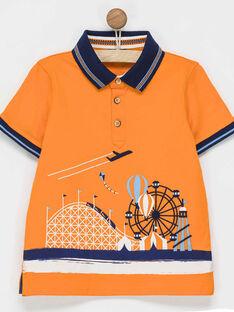 Orange Polo shirt NOFLAGE / 18E3PGJ2POLE400